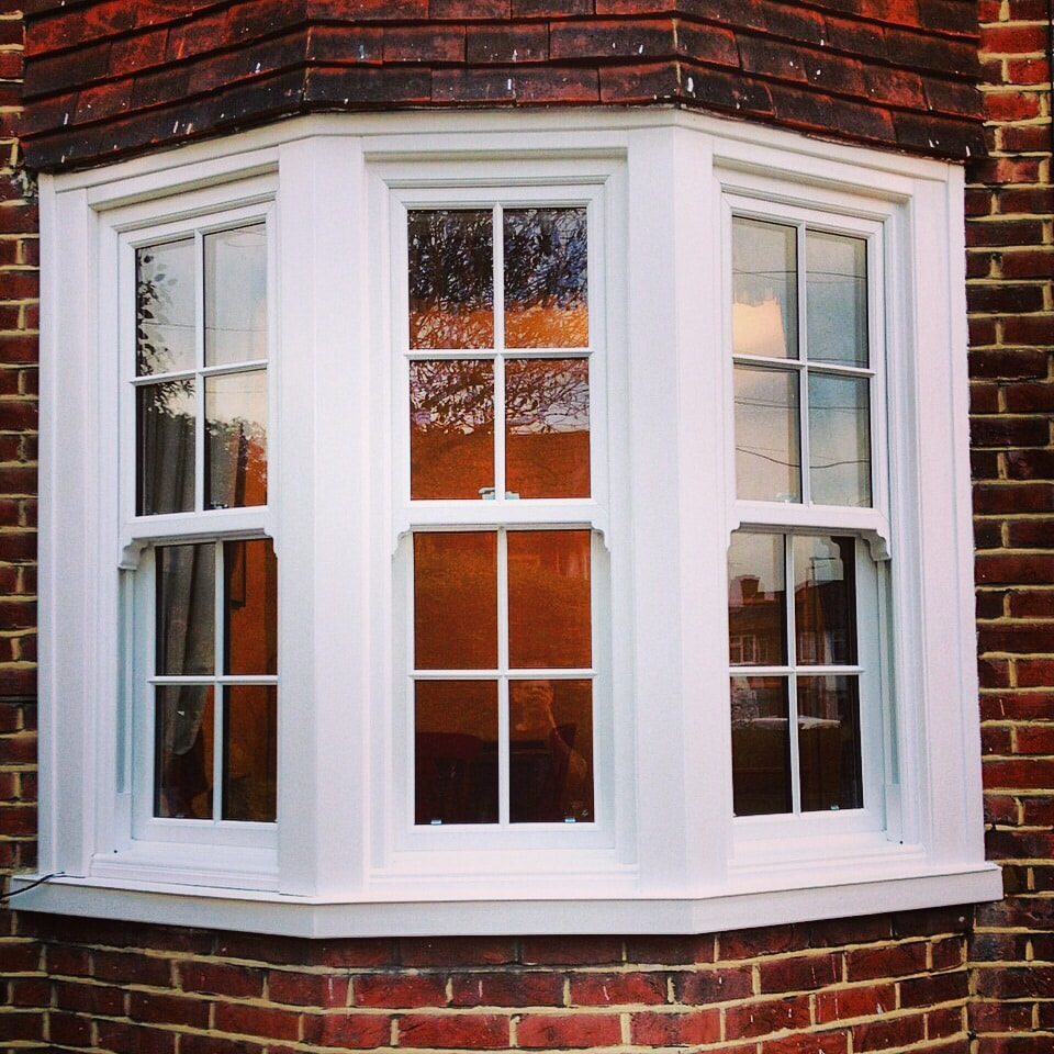 Vertical Sliding And Georgian Window