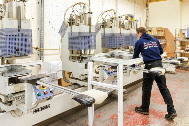 Presenting our double glazing factory in south london uk for Double glazing manufacturers