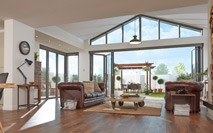 Bifold doors manufactured in Surrey