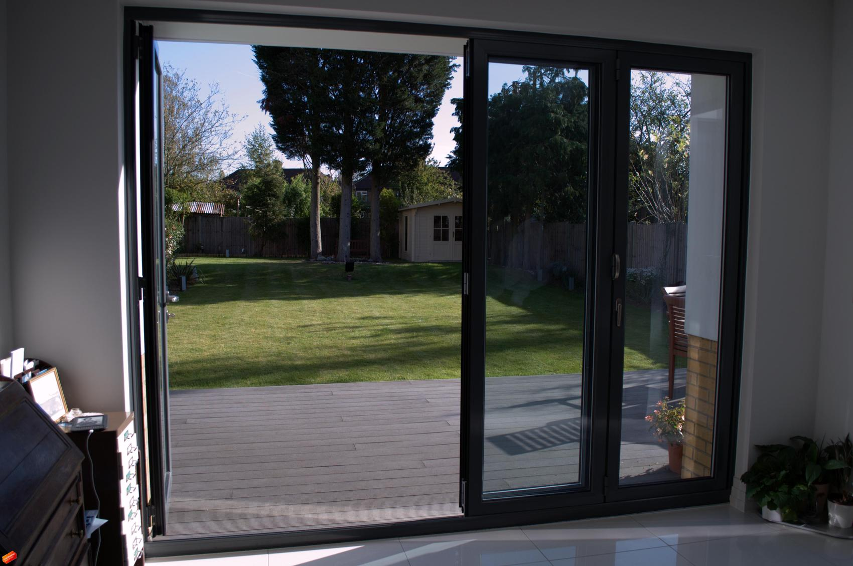 Beautiful Bi Fold Doors For Trade Clients Manufactured