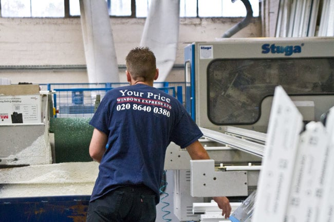 Express window manufacturing service from our London warehouse