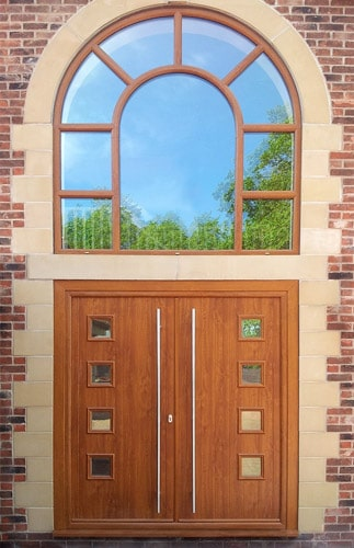 Arched Double Glazing Manufactured In South London Uk