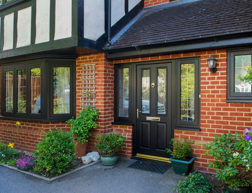 dark composite endurance door surrey - What are composite windows and are they right for your property?