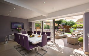 menu bifolds 300x190 - Double Glazing Esher