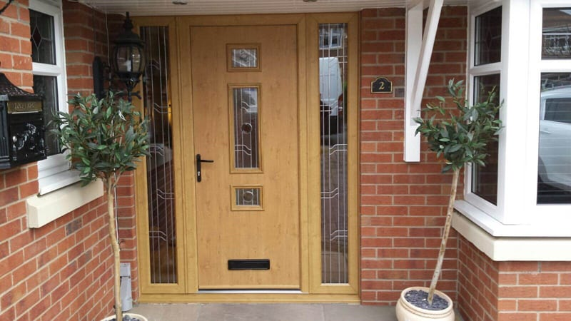 Built to order, supply only, trade composite doors UK