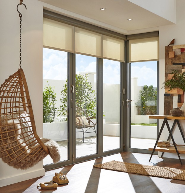 Here are some of the best ways to customise bifolding doors. Includes 2 to 8 panel configurations, an extensive collection of RAL colours, woodgrain finishes and quality handles & hardware. Design your bespoke bifolds now.