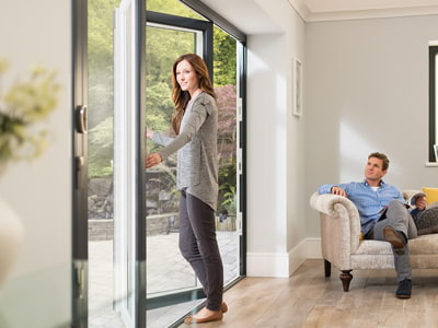 Bifold door supplied in Surrey and London within 48 hours