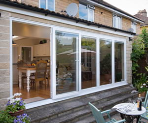 Bifold doors supplied and fitted in Surrey