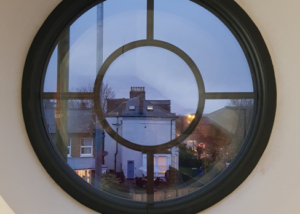 Bespoke windows & doors - quality round window installation in Lewisham