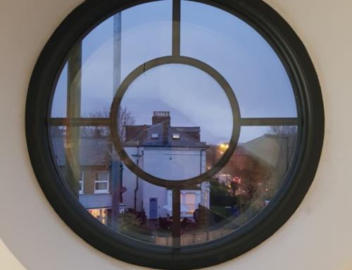 Round Window Installation in Lewisham