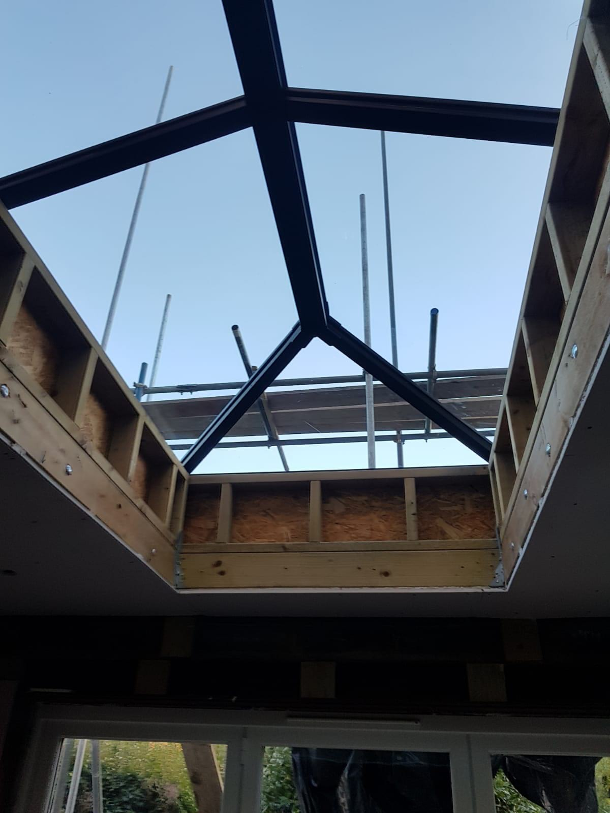 Roof Lantern Installation In A Kew Home Extension Your