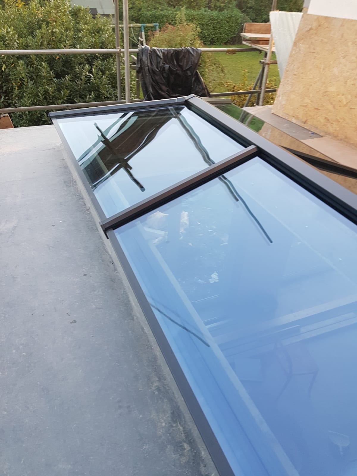 Roof lantern installation in a Kew home extension | Your Price Windows