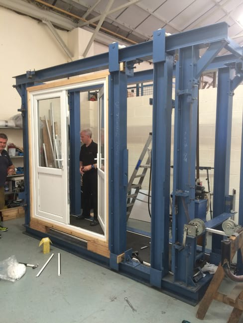PAS24 security testing on our uPVC doors
